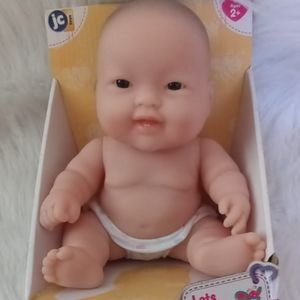 Feels Real Asian Newborn Doll